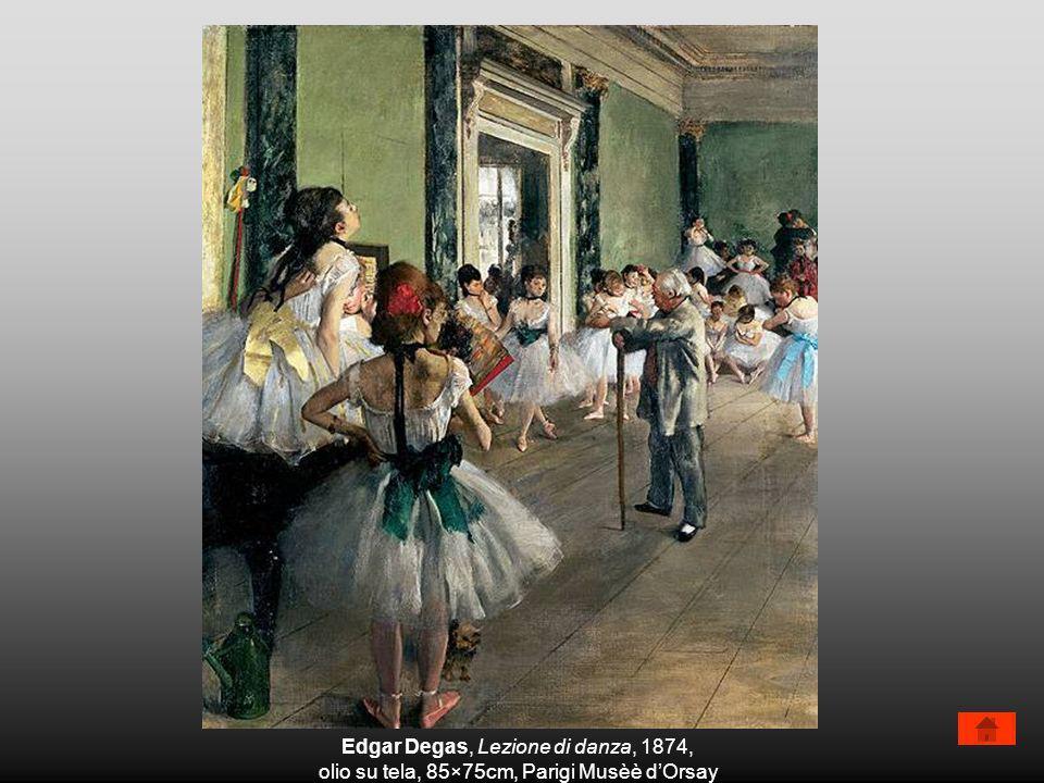 Edgar Degas, Lezione di danza, 1874,