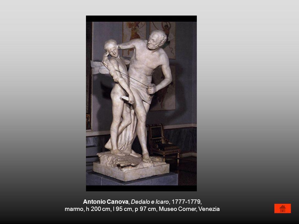 Antonio Canova, Dedalo e Icaro, 1777-1779,