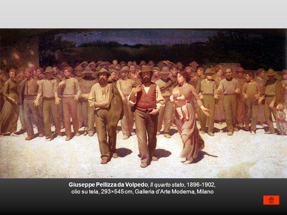 Giuseppe Pellizza da Volpedo, Il quarto stato, 1896-1902,