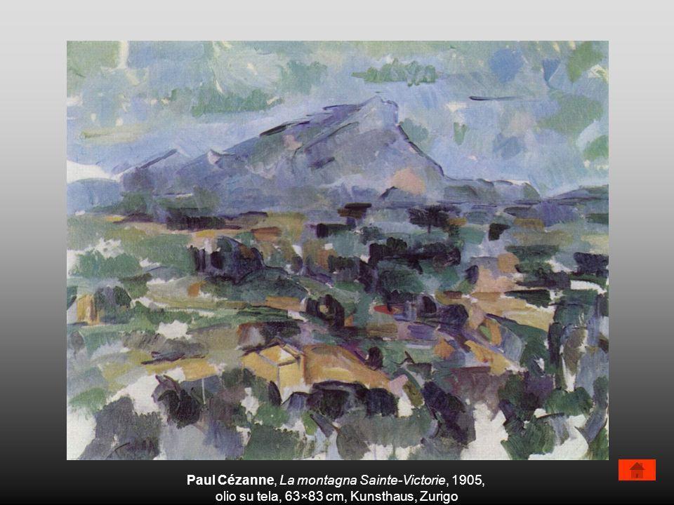 Paul Cézanne, La montagna Sainte-Victorie, 1905,