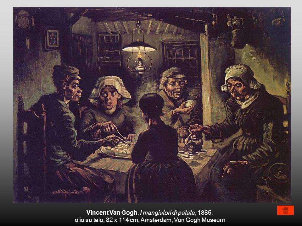 Vincent Van Gogh, I mangiatori di patate, 1885,