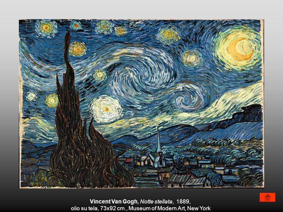 Vincent Van Gogh, Notte stellata, 1889,