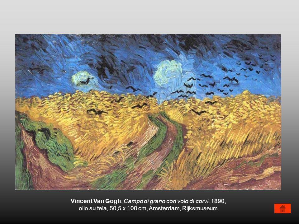 Vincent Van Gogh, Campo di grano con volo di corvi, 1890,
