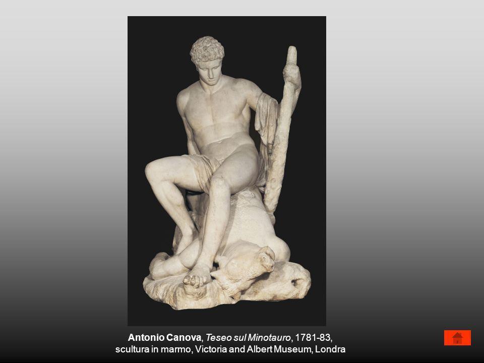 Antonio Canova, Teseo sul Minotauro, 1781-83,