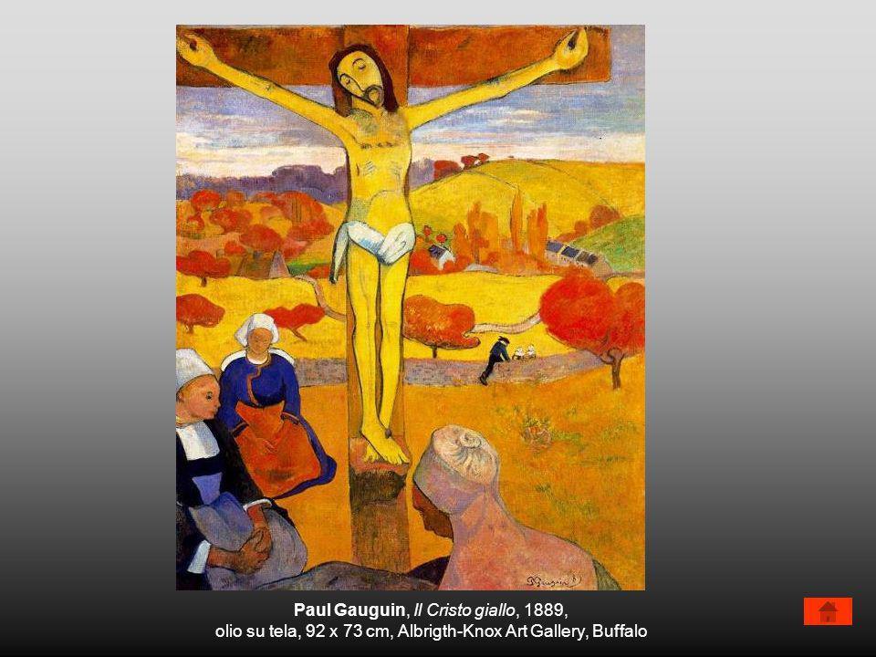 Paul Gauguin, Il Cristo giallo, 1889,