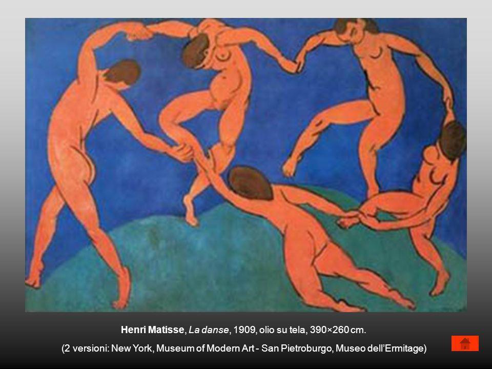 Henri Matisse, La danse, 1909, olio su tela, 390×260 cm.