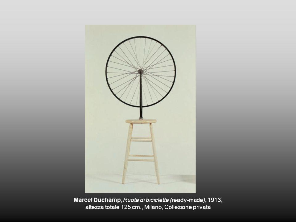Marcel Duchamp, Ruota di bicicletta (ready-made), 1913,