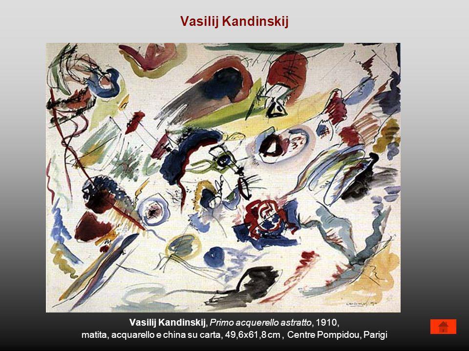 Vasilij Kandinskij, Primo acquerello astratto, 1910,