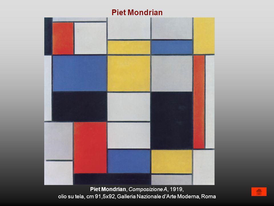Piet Mondrian Piet Mondrian, Composizione A, 1919,