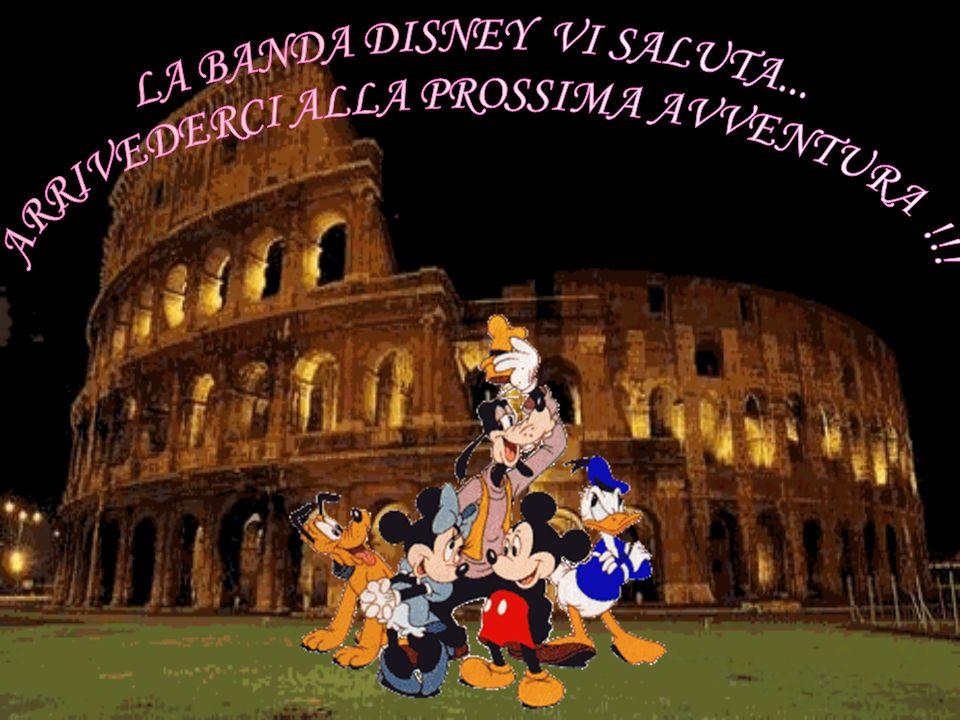 LA BANDA DISNEY VI SALUTA... ARRIVEDERCI ALLA PROSSIMA AVVENTURA !!!
