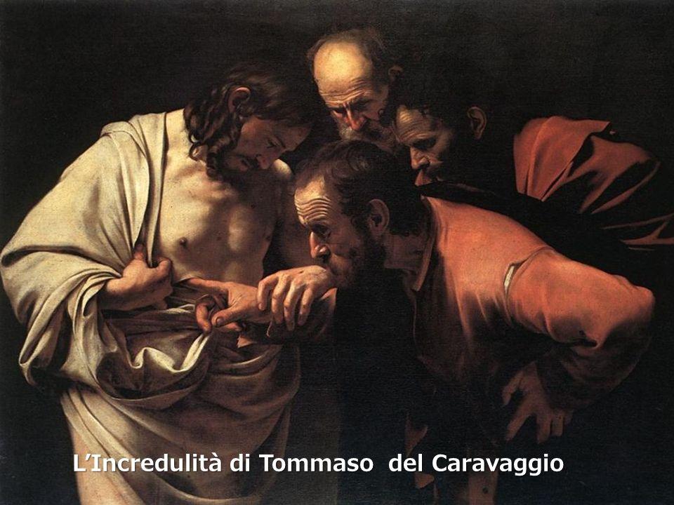 L'Incredulità di Tommaso del Caravaggio