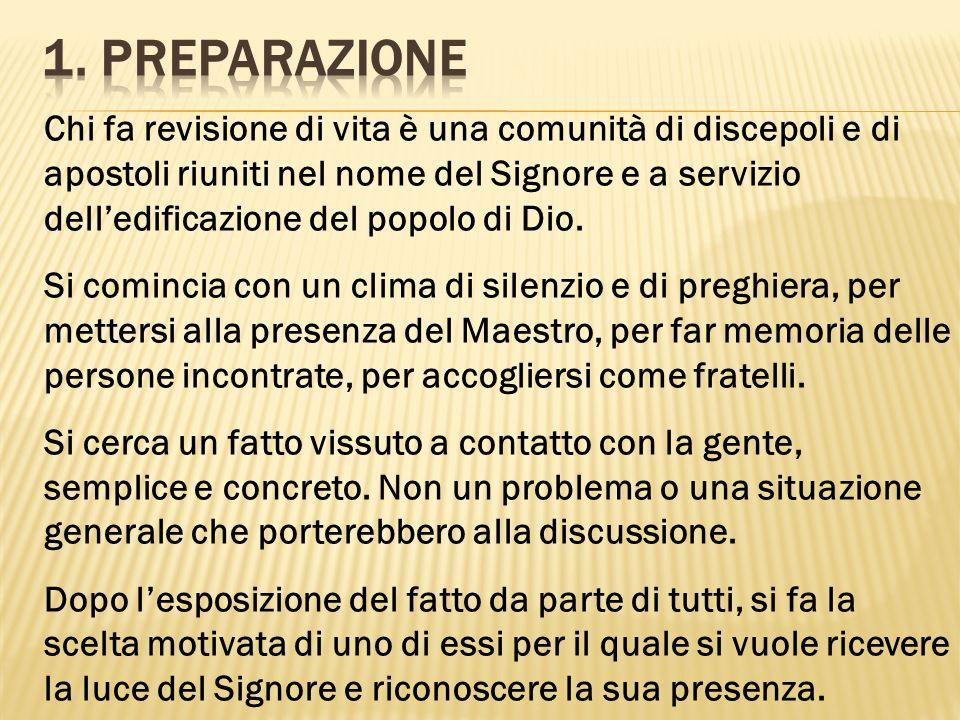 1. Preparazione