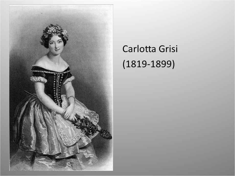 Carlotta Grisi (1819-1899)