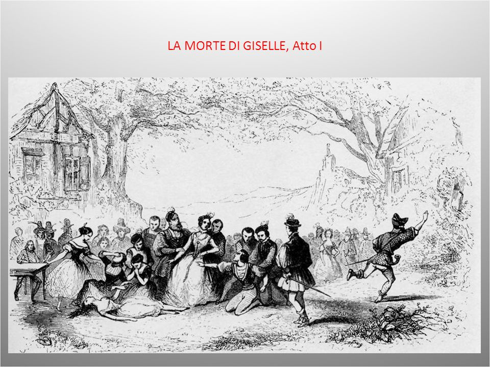 LA MORTE DI GISELLE, Atto I