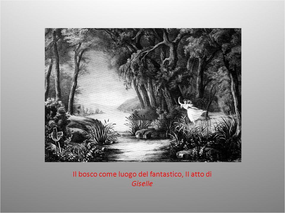 Il bosco come luogo del fantastico, II atto di Giselle
