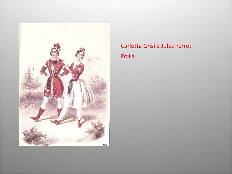 Carlotta Grisi e Jules Perrot