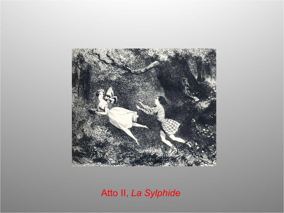 Atto II, La Sylphide