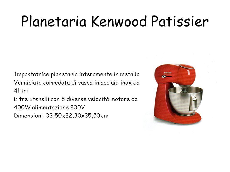 Planetaria Kenwood Patissier