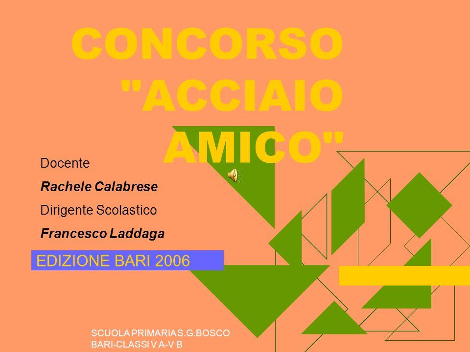 CONCORSO ACCIAIO AMICO