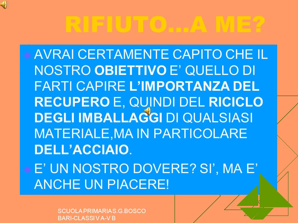 RIFIUTO…A ME