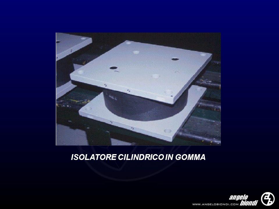 ISOLATORE CILINDRICO IN GOMMA