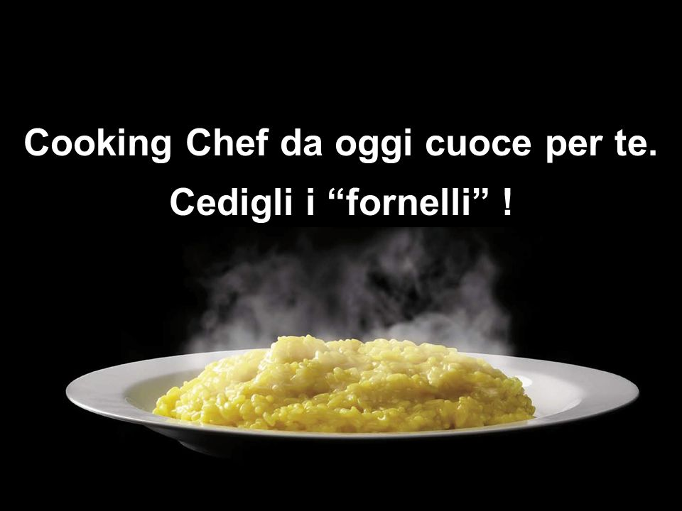 Cooking Chef da oggi cuoce per te.