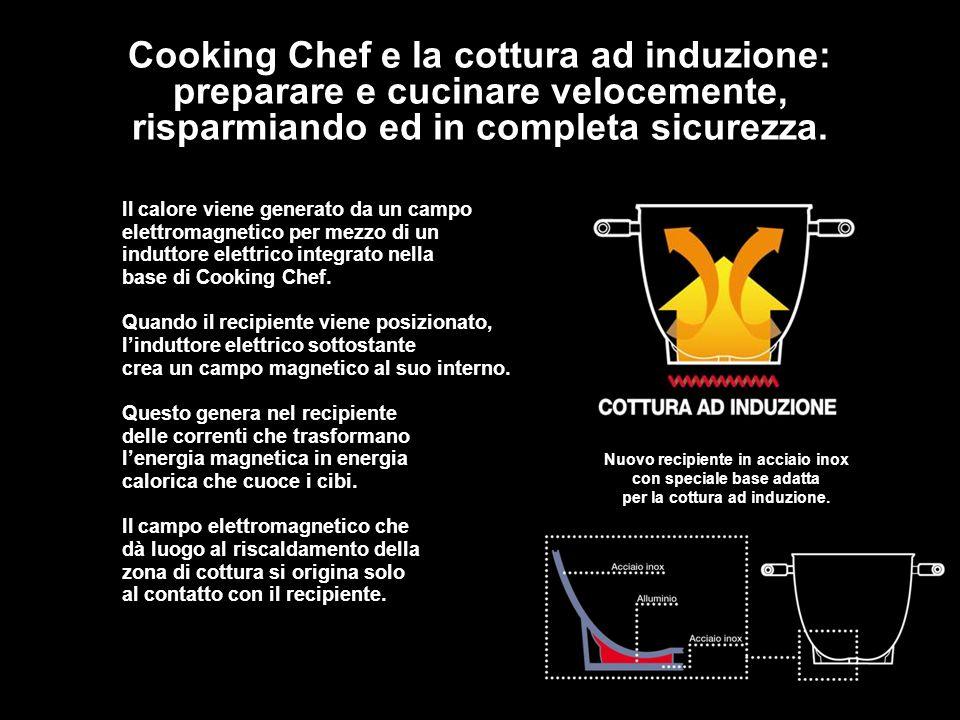 Cooking Chef e la cottura ad induzione: