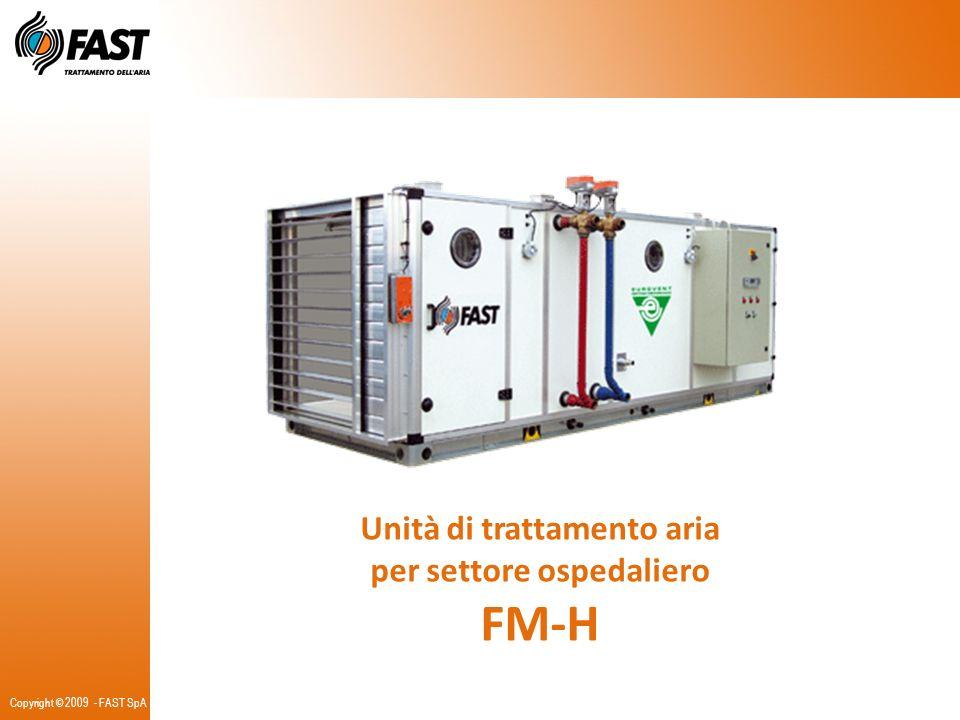 Unità di trattamento aria per settore ospedaliero