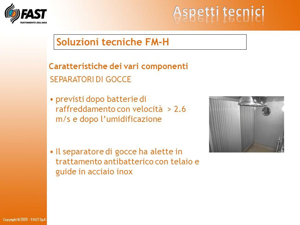 Aspetti tecnici Soluzioni tecniche FM-H