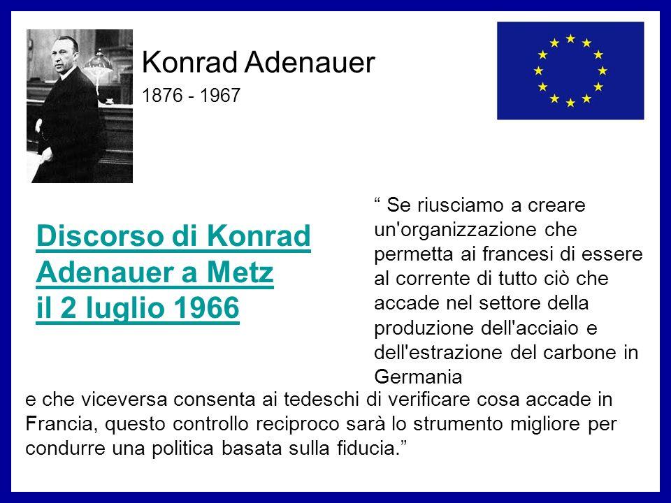 Discorso di Konrad Adenauer a Metz il 2 luglio 1966