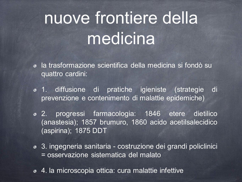 nuove frontiere della medicina