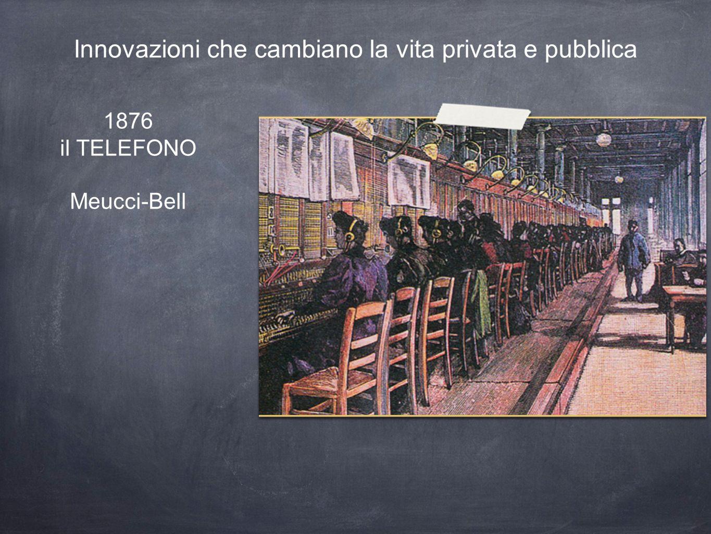 Innovazioni che cambiano la vita privata e pubblica