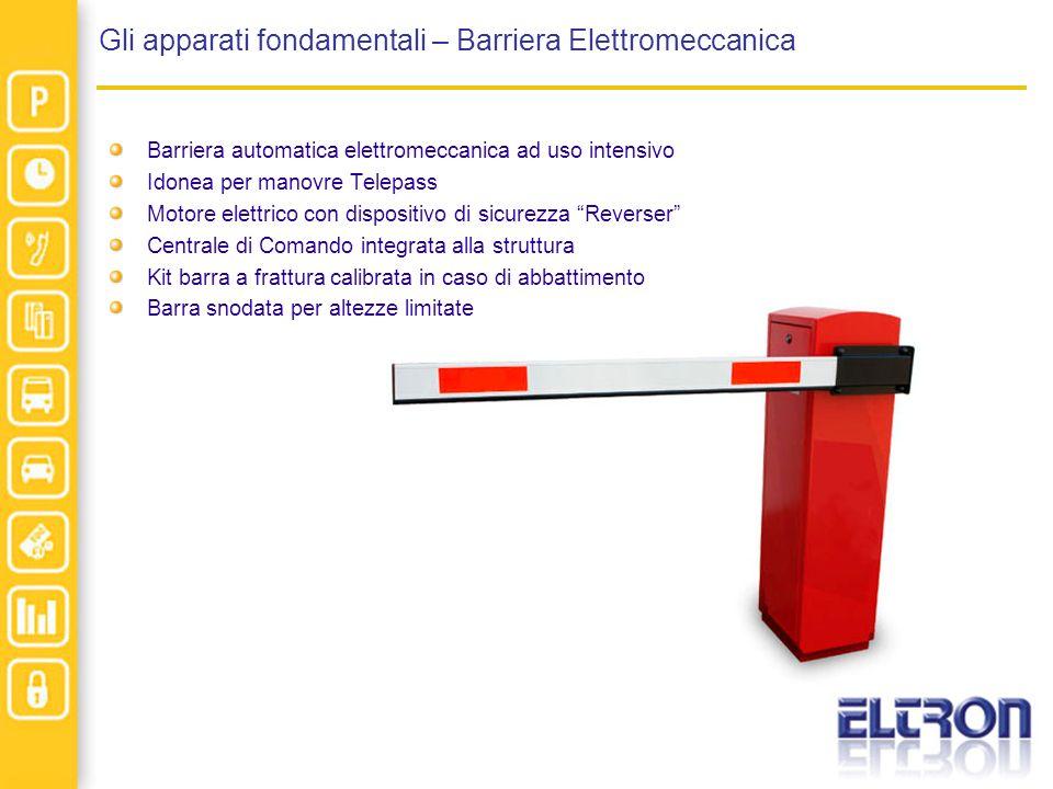 Gli apparati fondamentali – Barriera Elettromeccanica