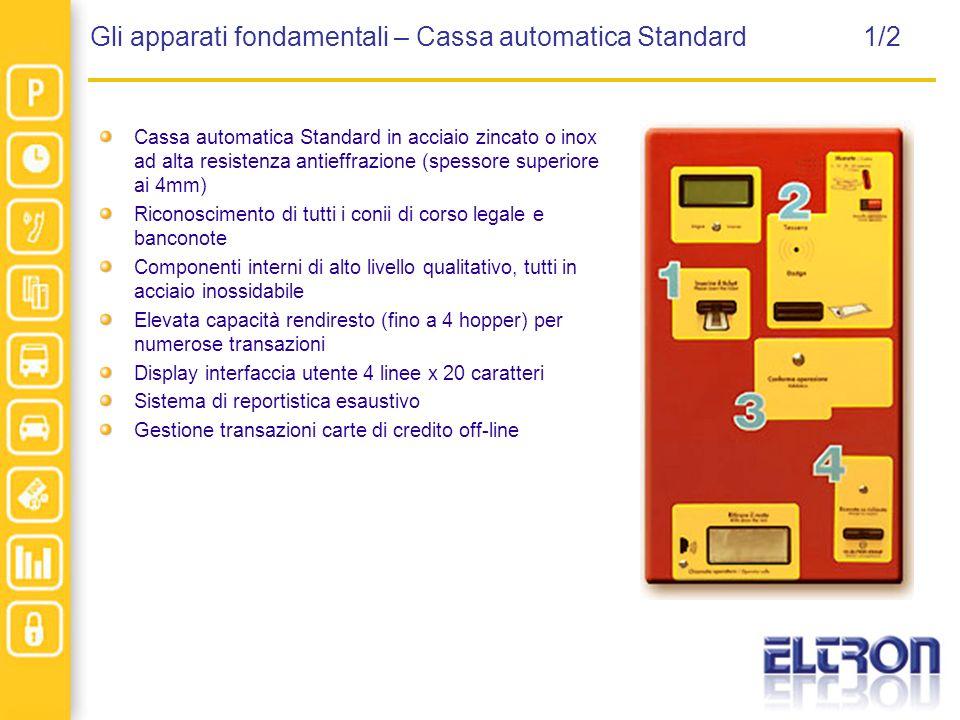 Gli apparati fondamentali – Cassa automatica Standard 1/2