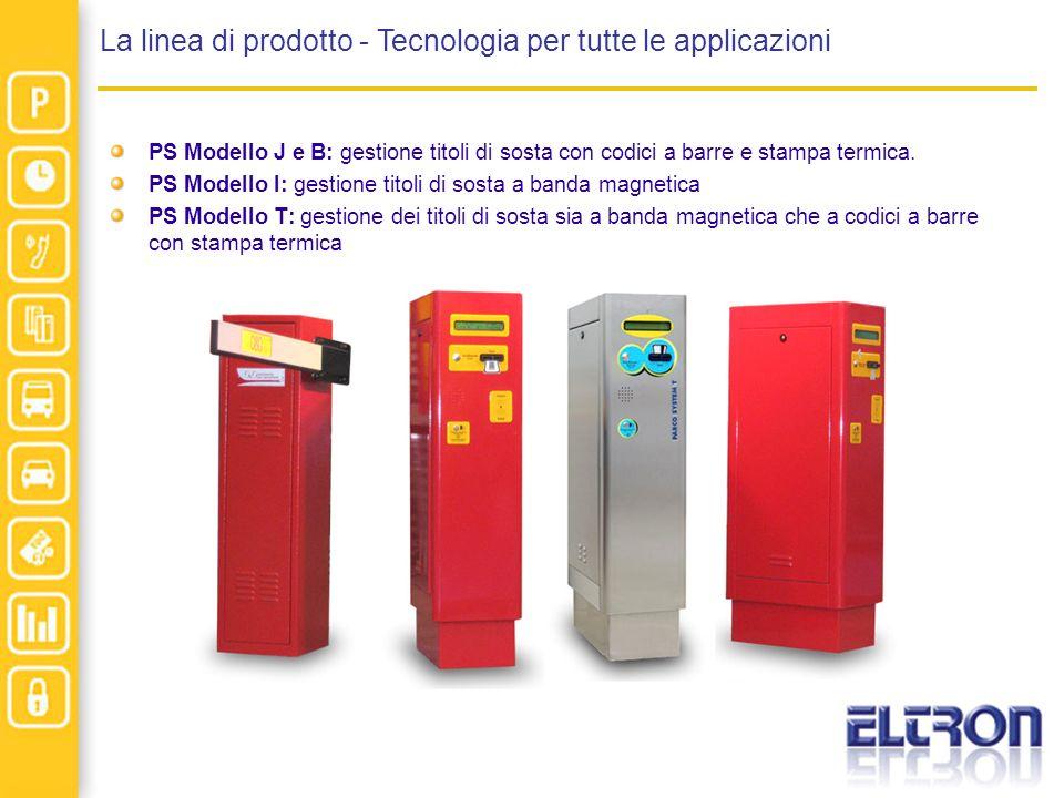 La linea di prodotto - Tecnologia per tutte le applicazioni