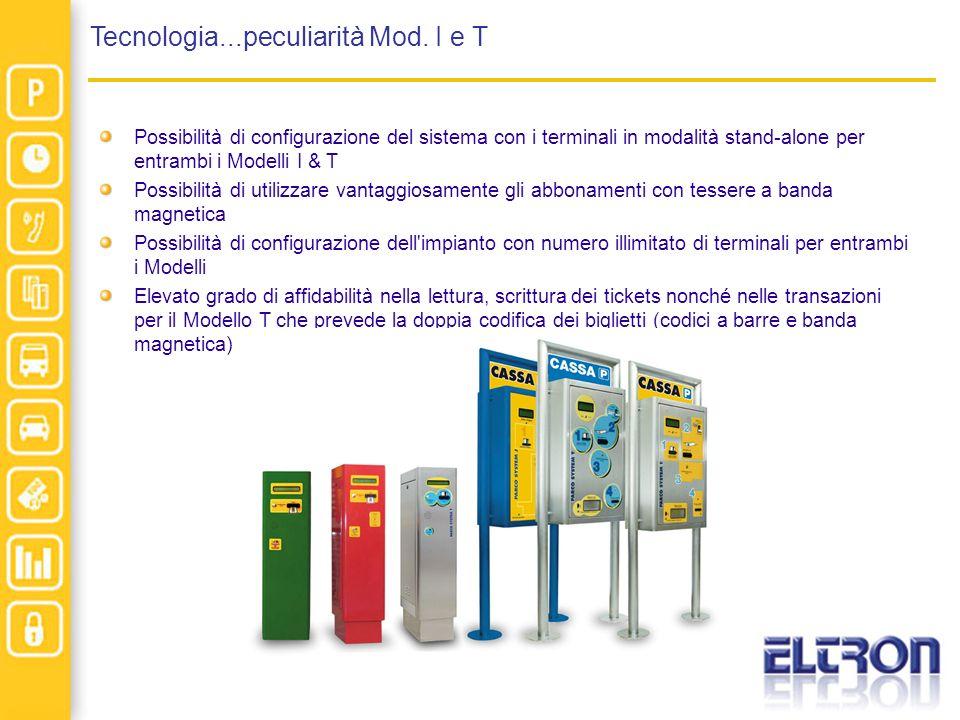 Tecnologia...peculiarità Mod. I e T