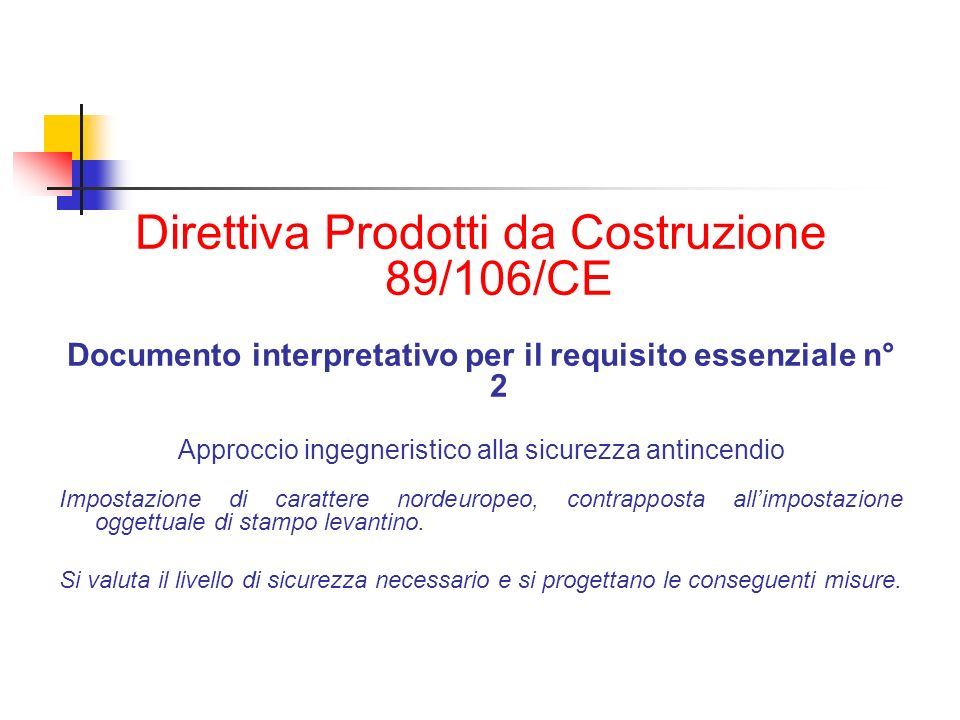 Documento interpretativo per il requisito essenziale n° 2