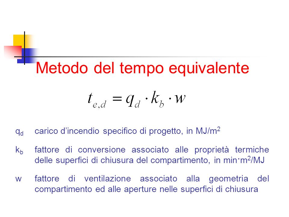 Metodo del tempo equivalente