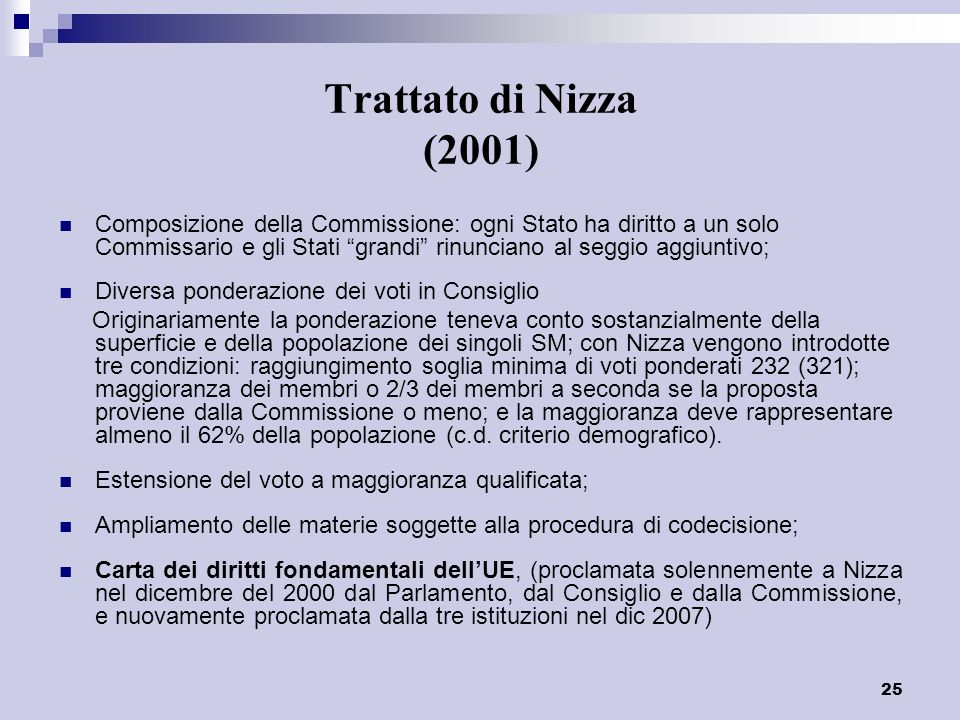 Trattato di Nizza (2001)