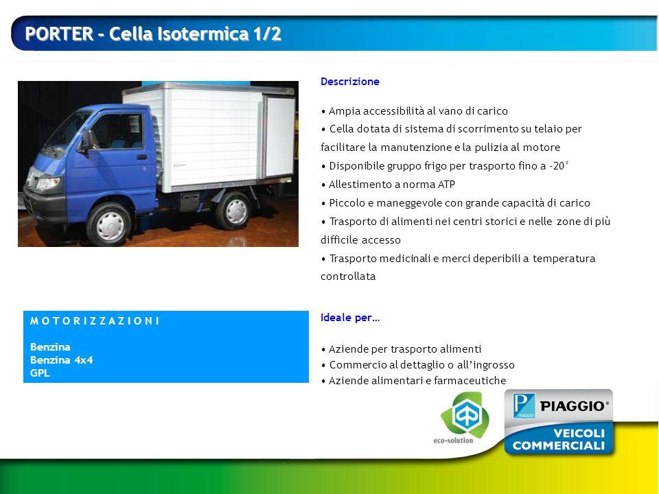 PORTER - Cella Isotermica 1/2