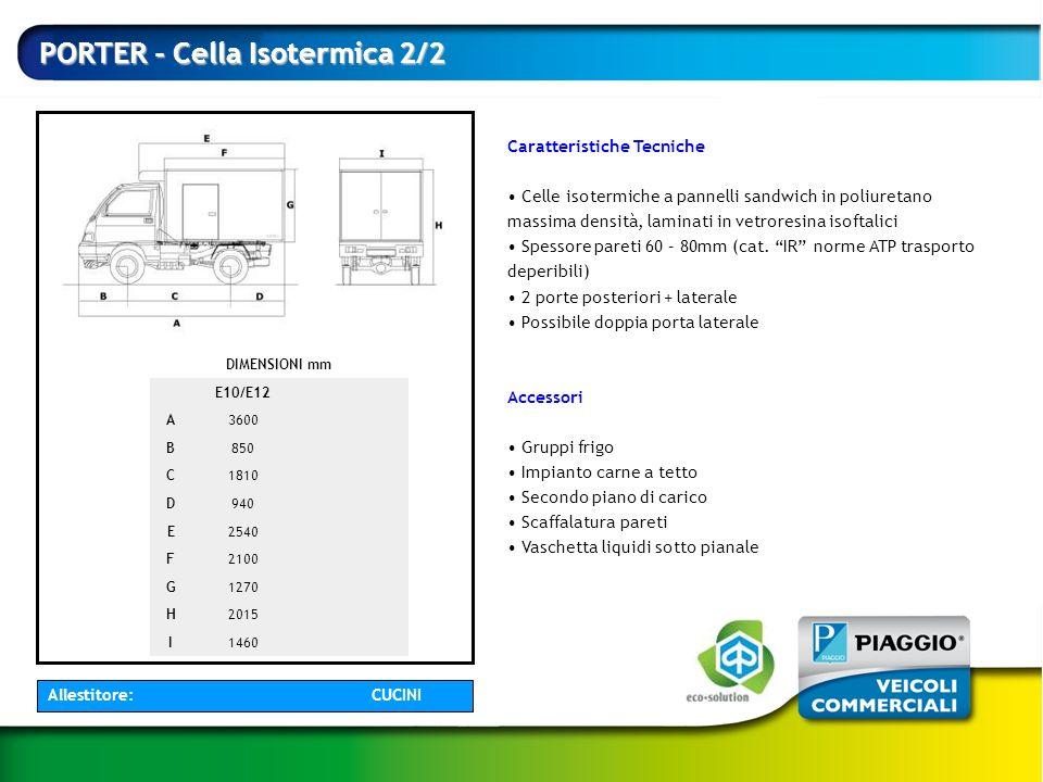 PORTER - Cella Isotermica 2/2