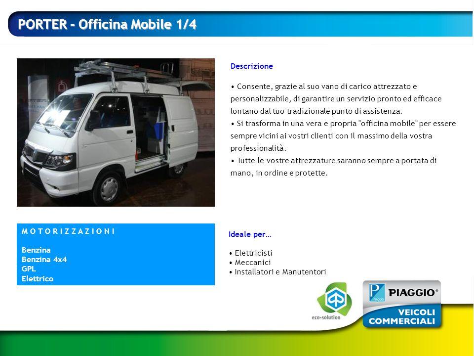 PORTER - Officina Mobile 1/4