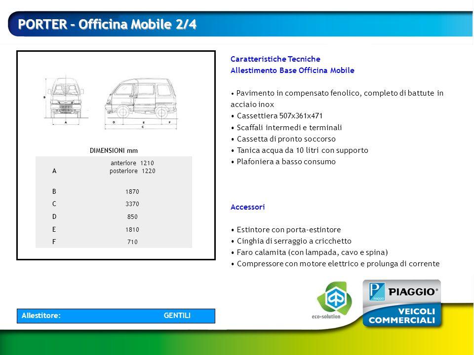 PORTER - Officina Mobile 2/4