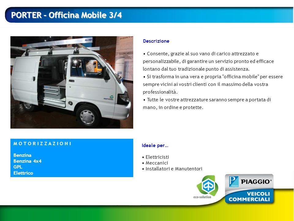 PORTER - Officina Mobile 3/4