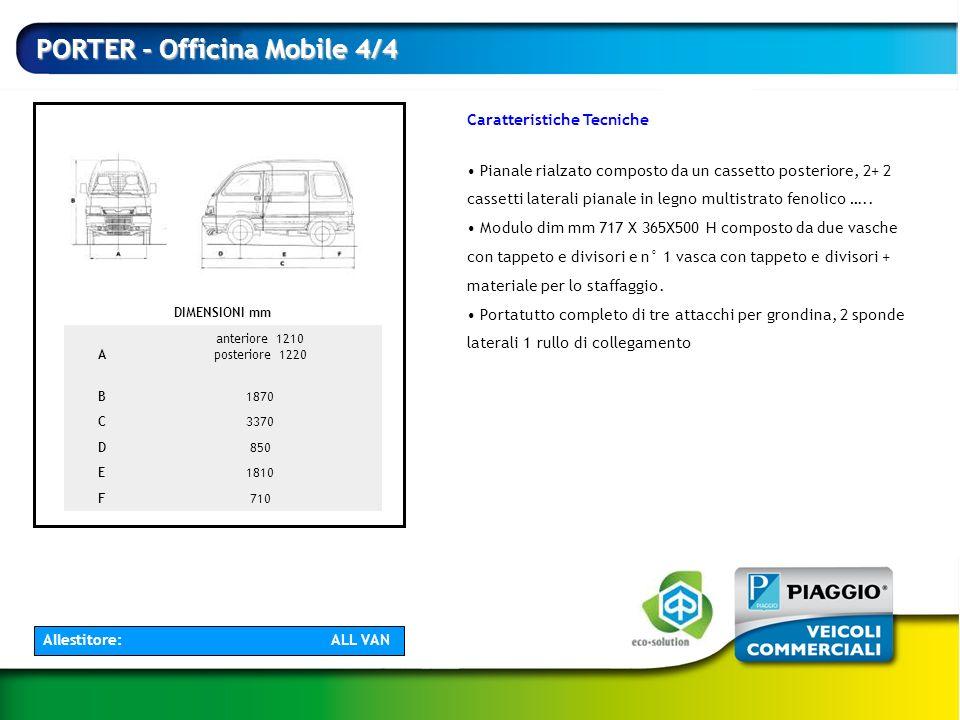 PORTER - Officina Mobile 4/4