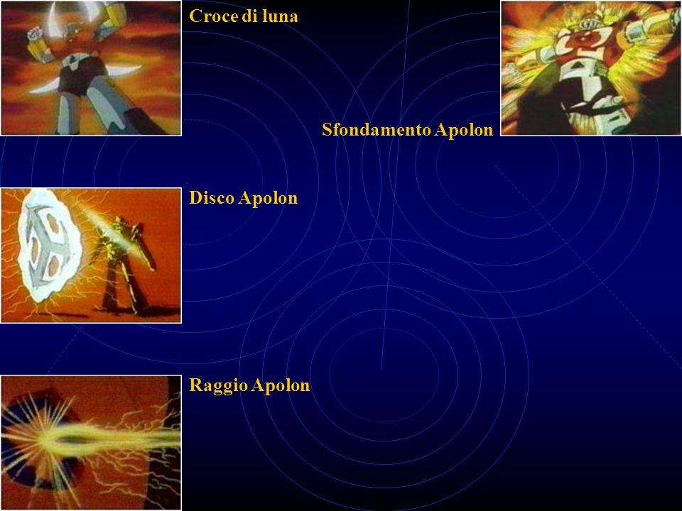 Croce di luna Sfondamento Apolon Disco Apolon Raggio Apolon