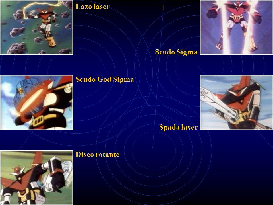 Lazo laser Scudo Sigma Scudo God Sigma Spada laser Disco rotante