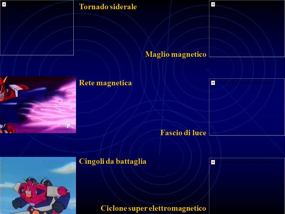 Tornado siderale Maglio magnetico. Rete magnetica.