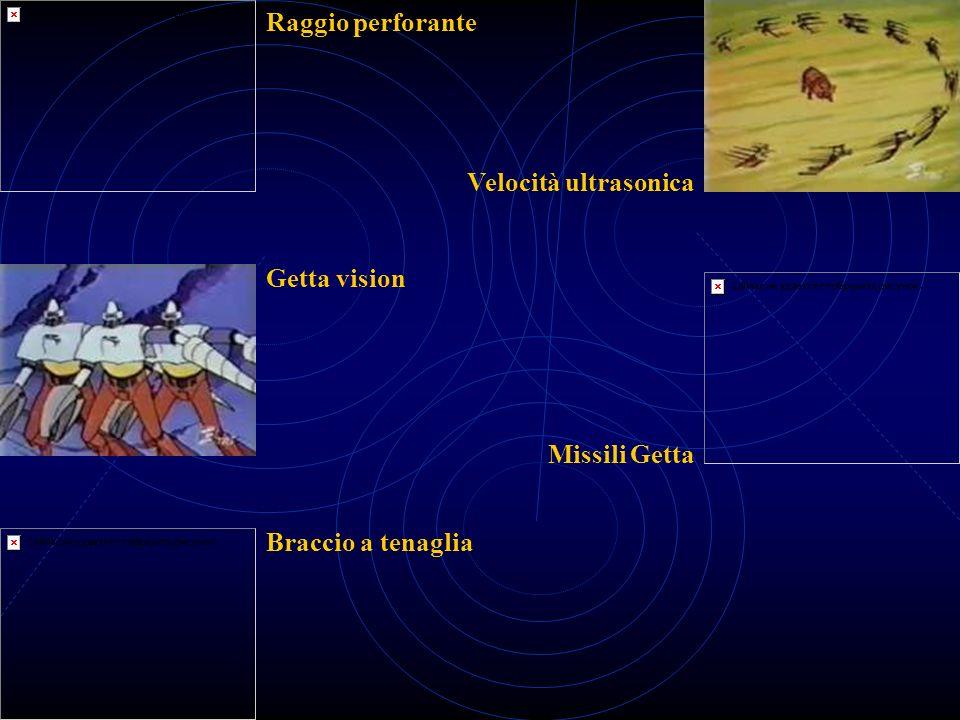 Raggio perforante Velocità ultrasonica Getta vision Missili Getta Braccio a tenaglia