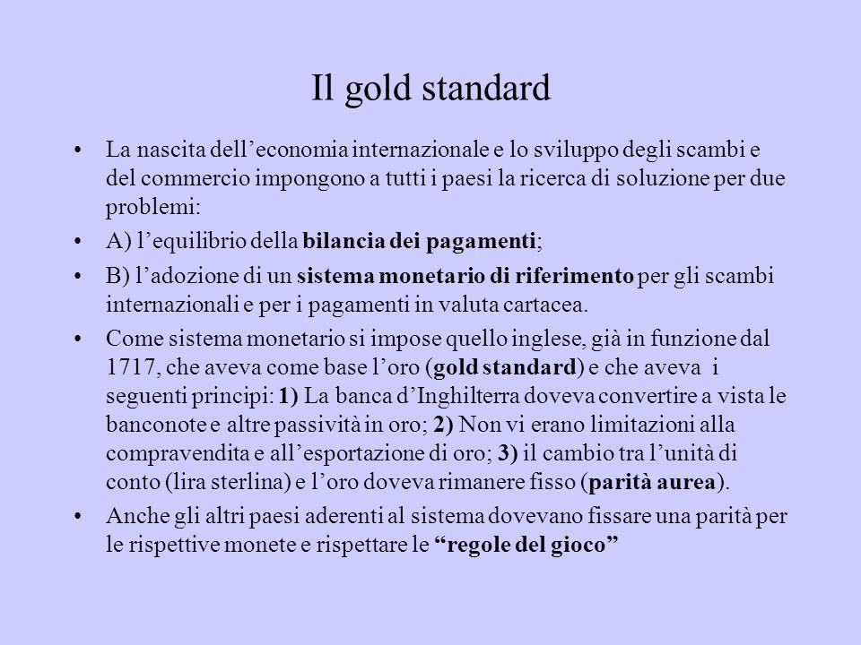 Il gold standard